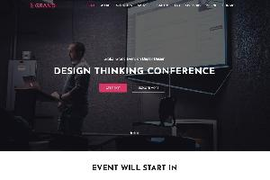 Grand One Page HTML Template