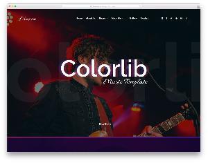 Musica free template