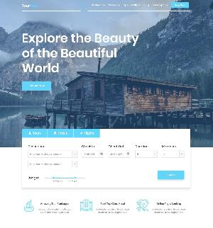 Tour Nest One Page HTML Template